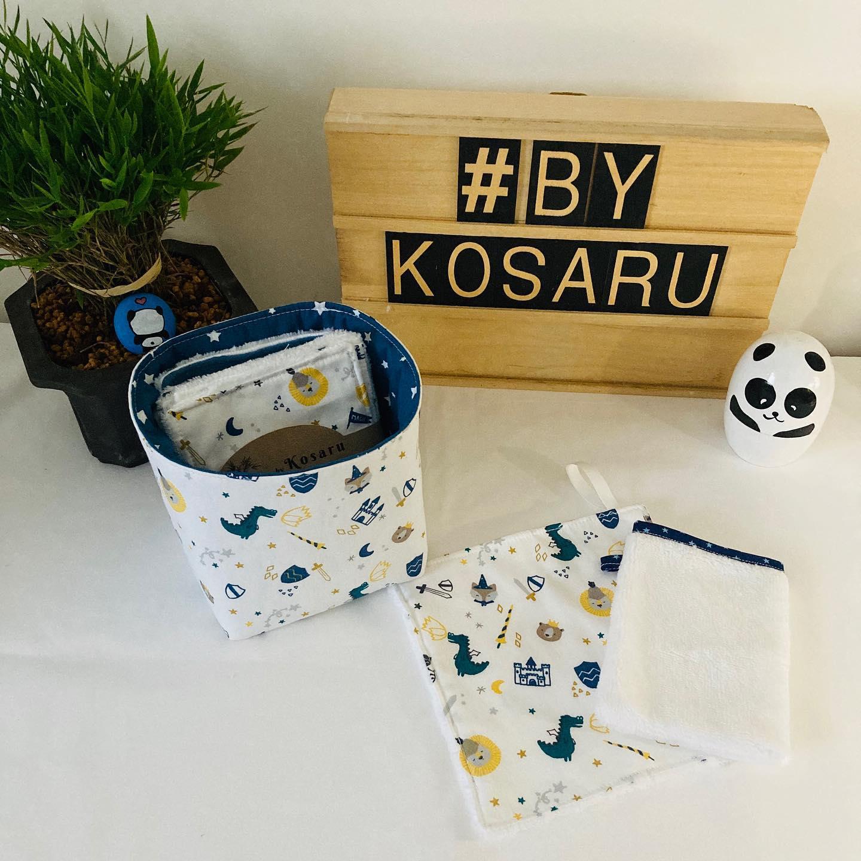 By Kosaru accessoires zero Dechet femmes et enfants