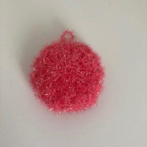 Tawashi bubble « Rose rouge »