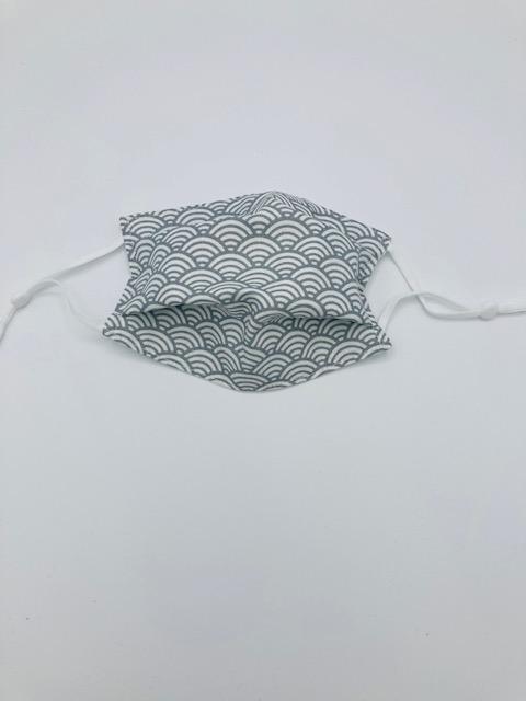 Masque enfant 5/10 AFNOR « Vagues grises »