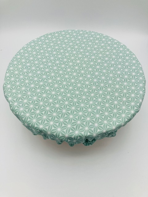 Couvre plat coton « Saki Vert »