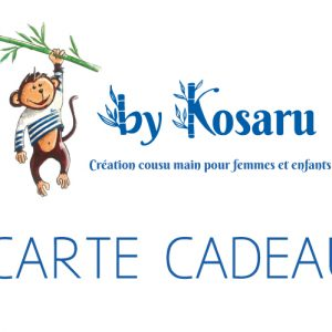 Carte cadeau By Kosaru